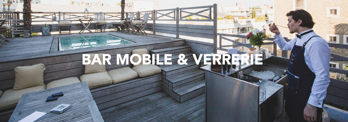 BAR MOBILE & VERRERIE